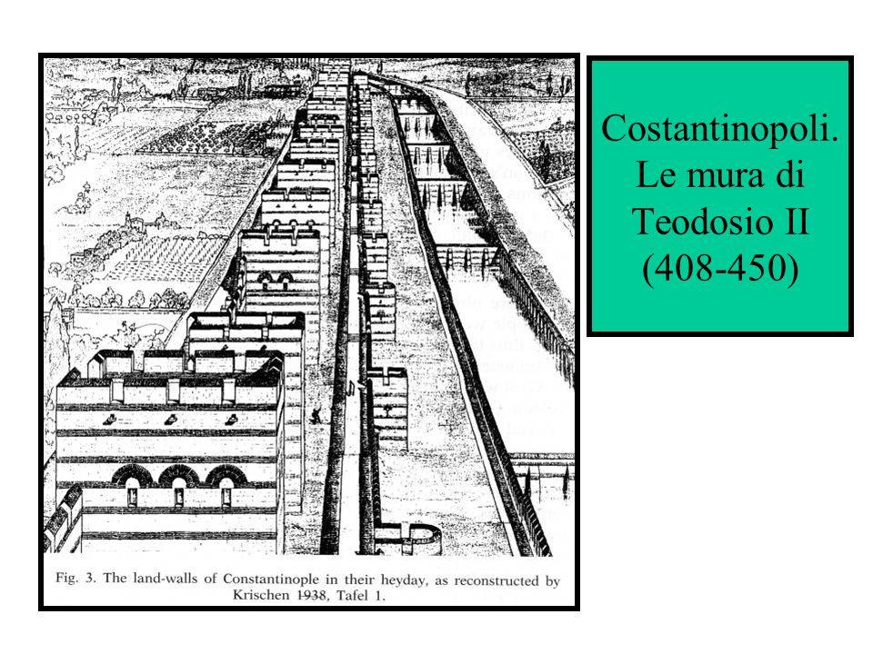 Costantinopoli. Le mura di Teodosio II (408-450)
