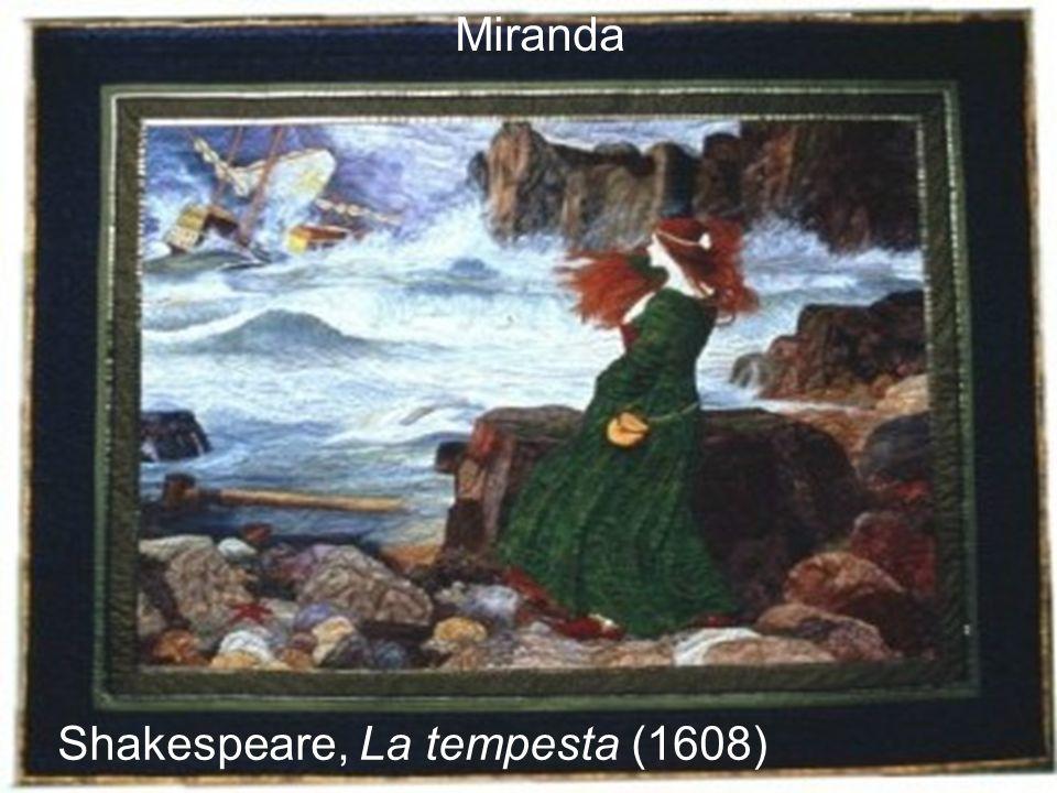Miranda Shakespeare, La tempesta (1608)