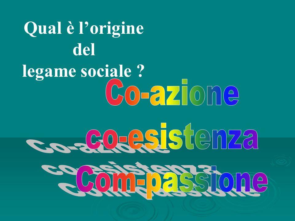 Qual è lorigine del legame sociale ?