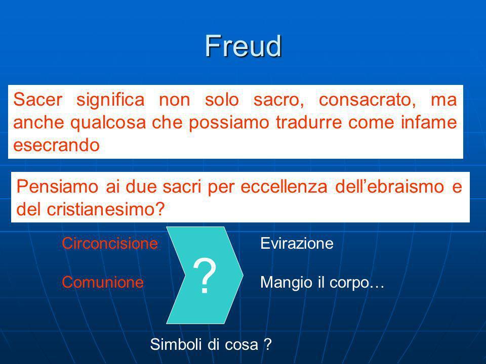 La rilettura di Freud Il Cervello per Freud Freud non conosceva questi studi sul cervello che risalgono agli anni 70, tutta via descrive il cervello come una struttura a strati.