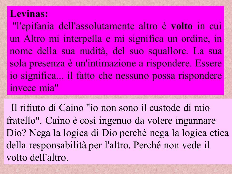 Levinas: