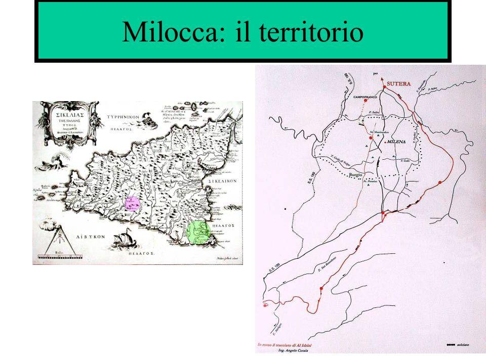 Milocca: il territorio