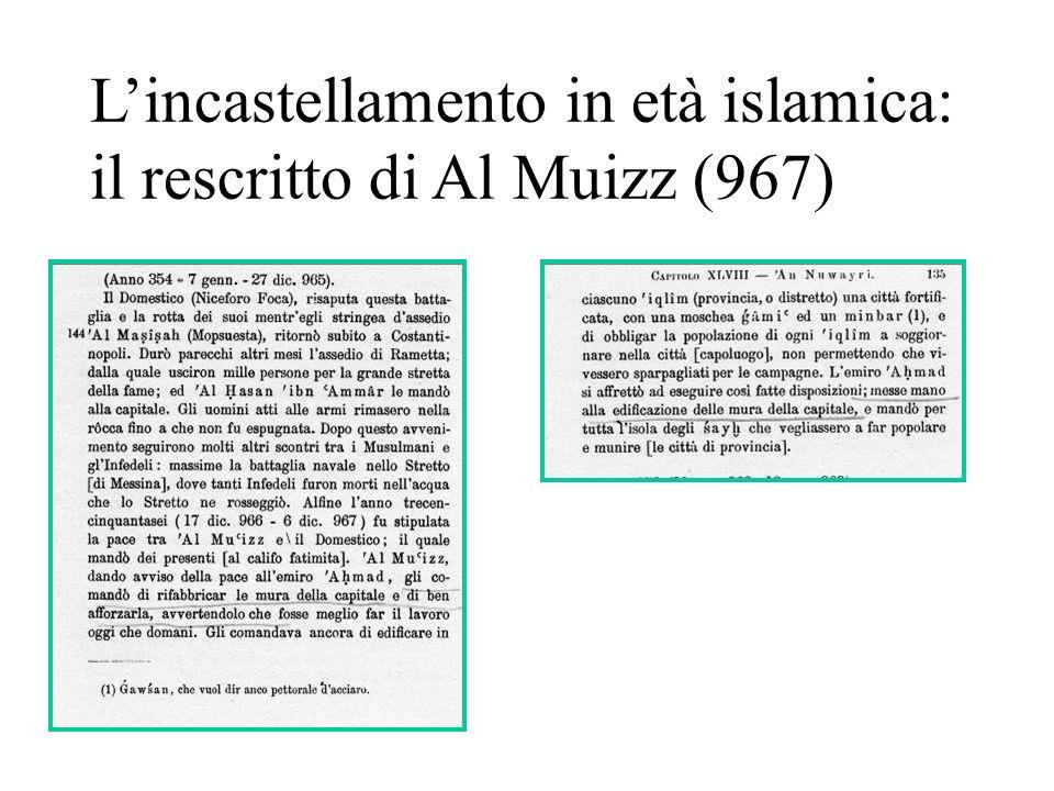 Lincastellamento in età islamica: il rescritto di Al Muizz (967)