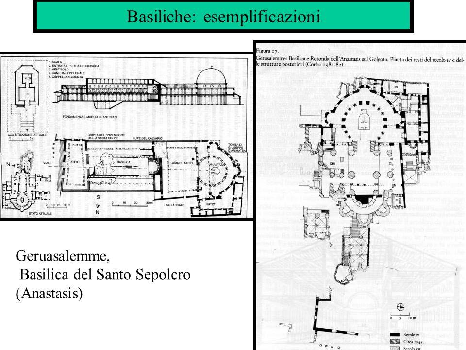 Basiliche: esemplificazioni Geruasalemme, Basilica del Santo Sepolcro (Anastasis)