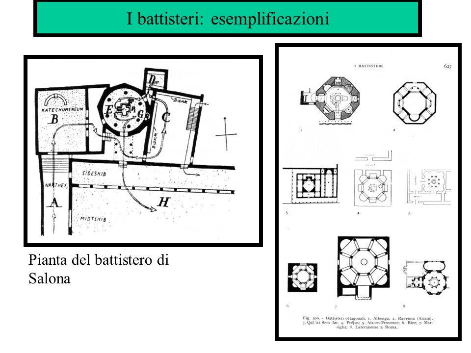 Basiliche: esemplificazioni Aquileia: basilica teodoriana (IV secolo)