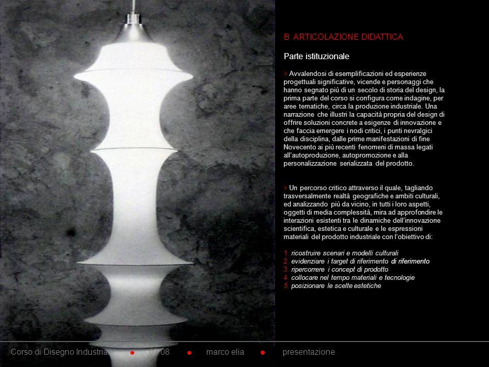 10. B. ARTICOLAZIONE DIDATTICA Parte istituzionale > Avvalendosi di esemplificazioni ed esperienze progettuali significative, vicende e personaggi che