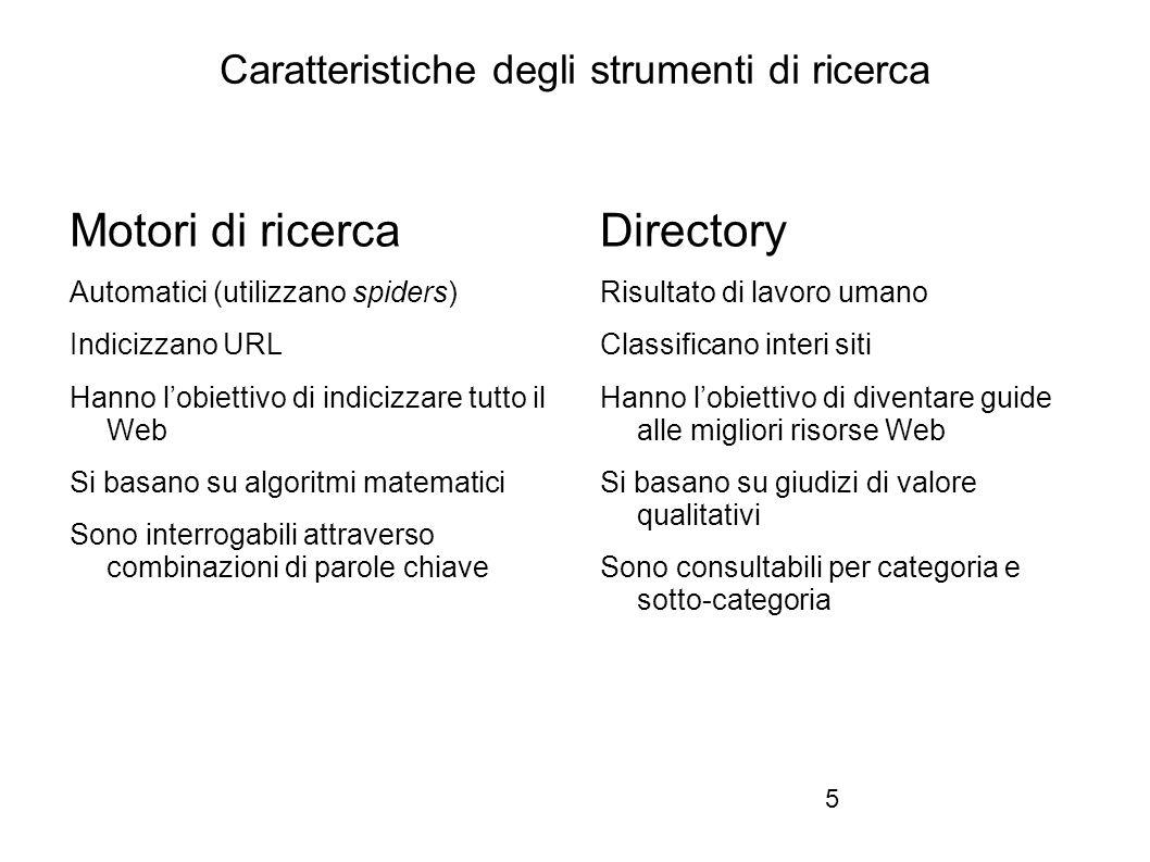 Firenze, 22 ottobre 2010 Indici web per argomento: WebDirectory e altre risorse 1.