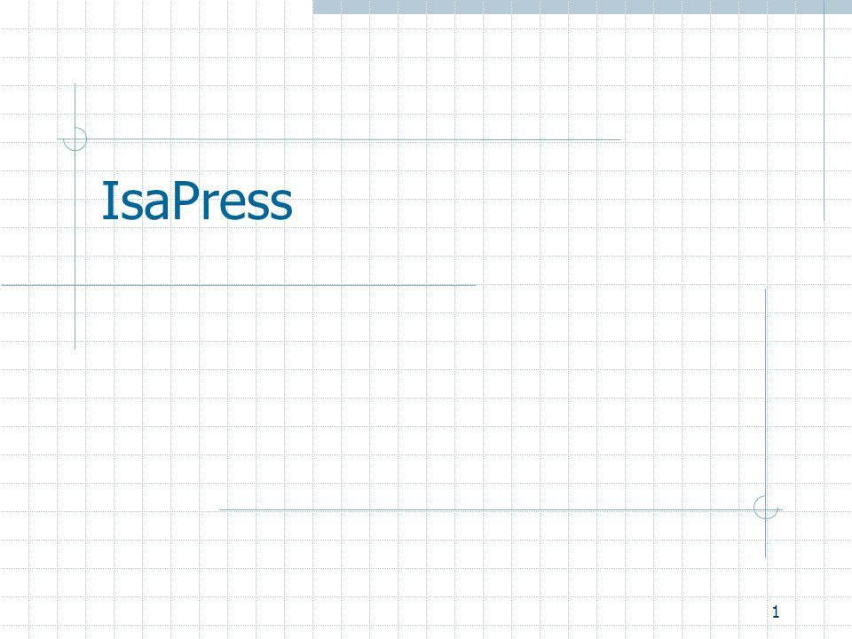 1 IsaPress