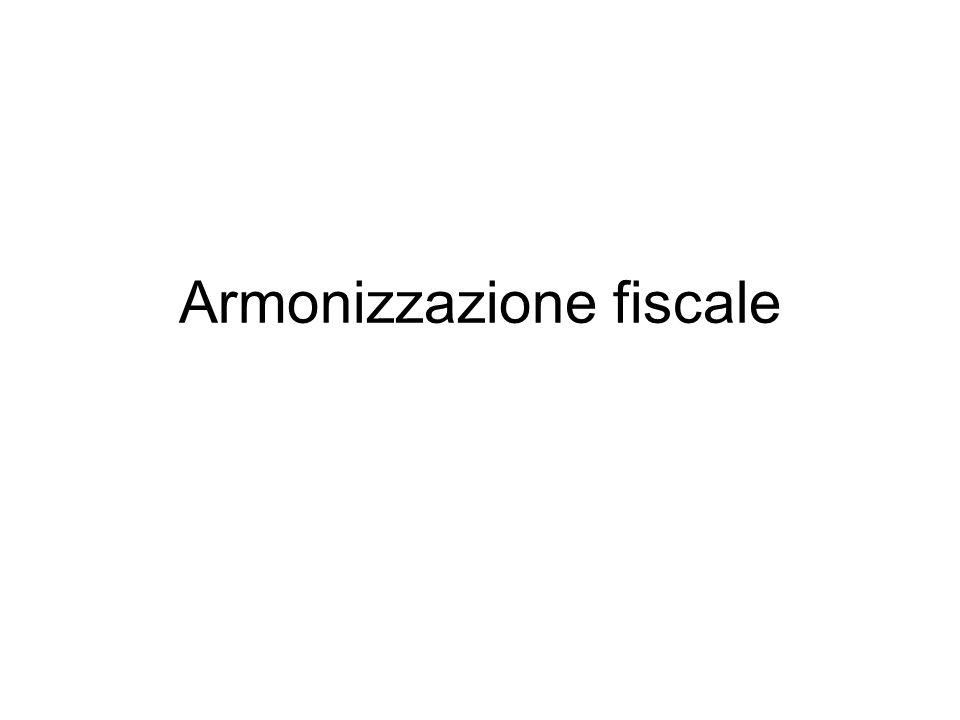 Armonizzazione fiscale