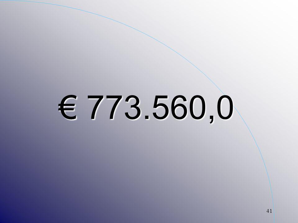 41 773.560,0 773.560,0