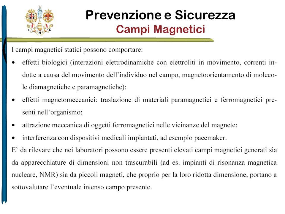 Prevenzione e Sicurezza Campi Magnetici