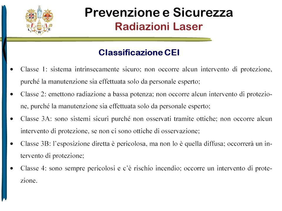 Classificazione CEI
