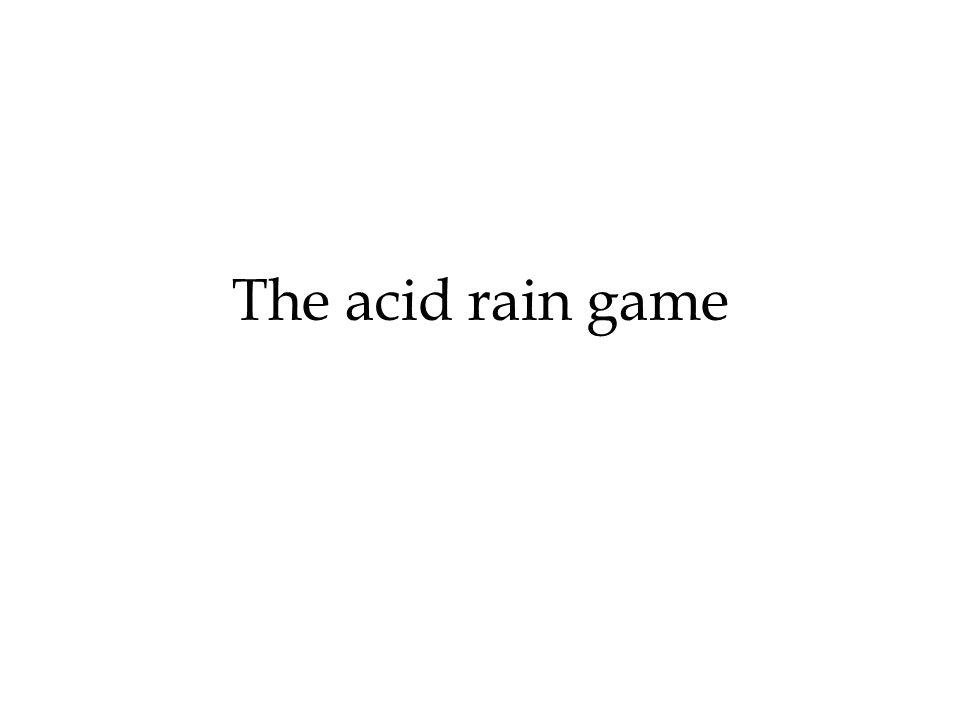 Le piogge acide derivano dallemissione di una varietà di inquinanti, successivamente convertiti in forme acide.