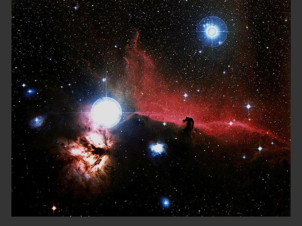 La forza di gravità tende a far collassare la nebulosa Tempo Collasso di una nebulosa La nube si frammenta a causa di turbolenza e instabilità gravitazionale Al centro dei frammenti si forma una protostella su cui inizia a cadere materia.