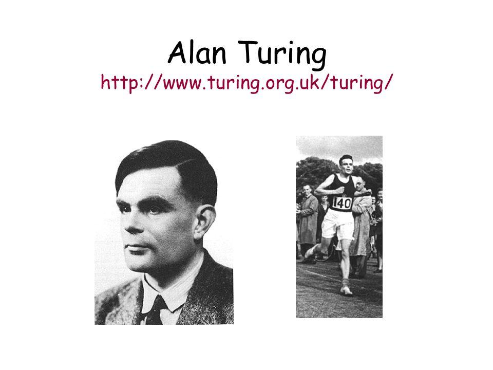 Alan Turing http://www.turing.org.uk/turing/