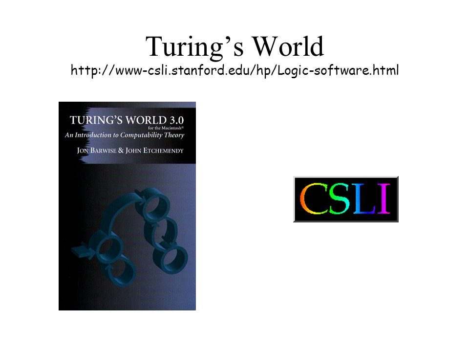 Turings World http://www-csli.stanford.edu/hp/Logic-software.html