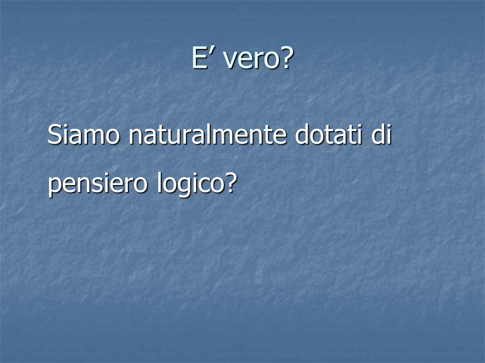 Tutti gli italiani sono uomini Qualche uomo è biondo quindi…………….?