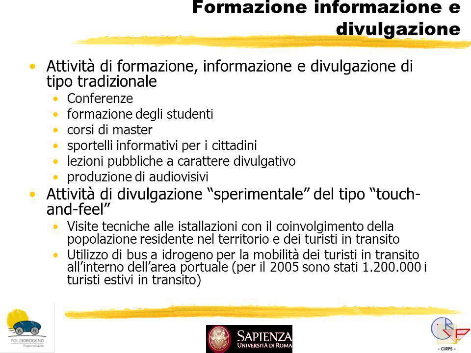 Formazione informazione e divulgazione Attività di formazione, informazione e divulgazione di tipo tradizionale Conferenze formazione degli studenti c