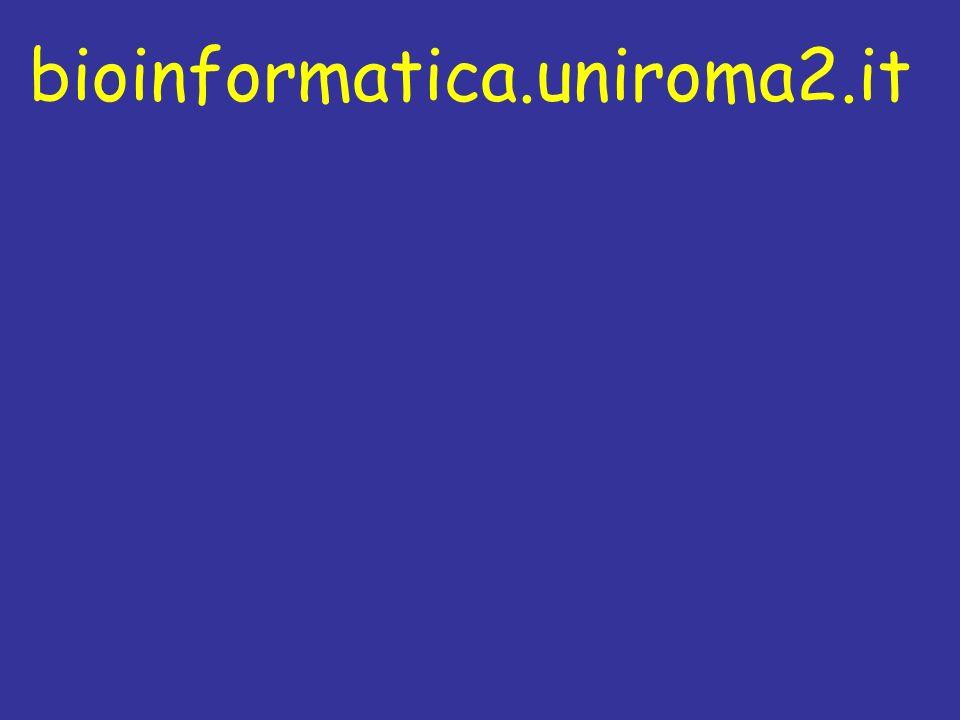 Biologia e bioinformatica Esperimenti Biologia Analizza Nuove teorie Bioinformatica Programmi Nuovi dati Studia Dati: sequenze strutture genomi interazioni letteratura Scrive AnalizzanoProduce Producono Vita: popolazioni organismi cellule molecole Esplorano Esegue Generano Gestisce