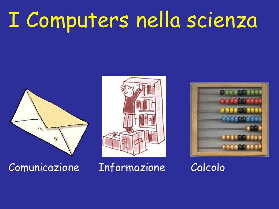 I Computers nella scienza ComunicazioneInformazioneCalcolo