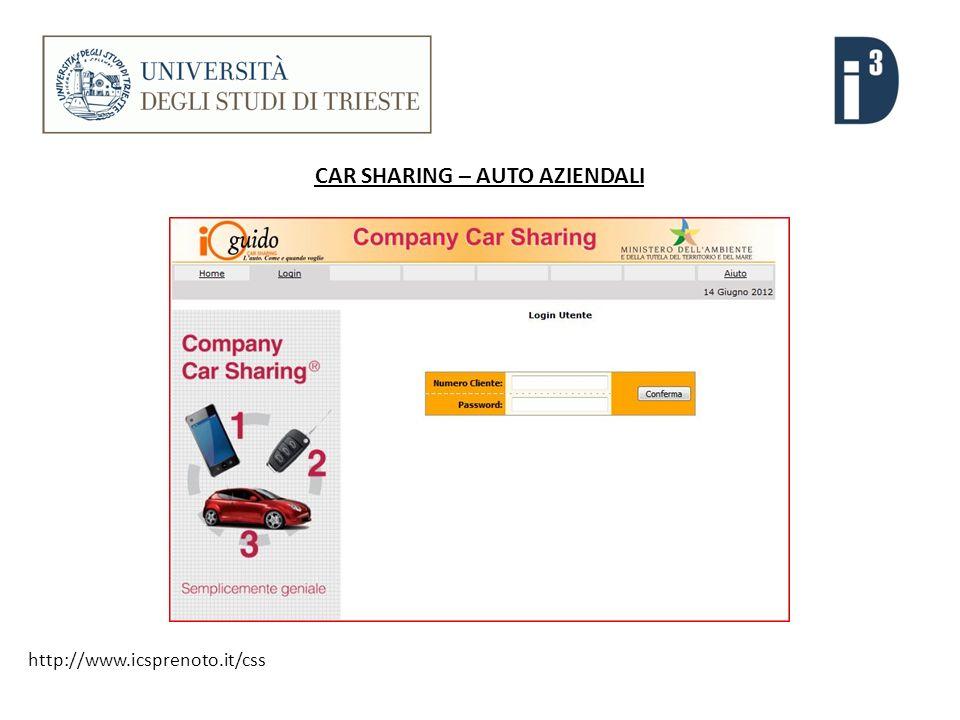 CAR SHARING – AUTO AZIENDALI http://www.icsprenoto.it/css