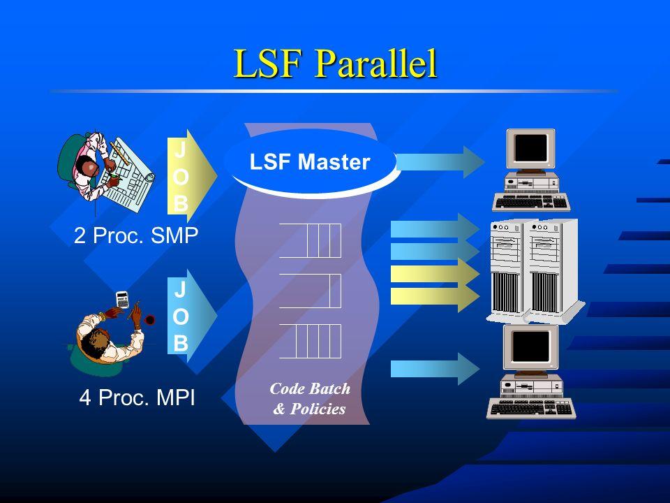 n Analisi dellutilizzo delle risorse –Supporto alle decisioni di acquisto e rinnovo –Chargeback accounting –Performance analysis su lunghi periodi LSF Analyzer