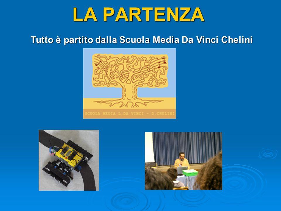 LA PARTENZA Tutto è partito dalla Scuola Media Da Vinci Chelini