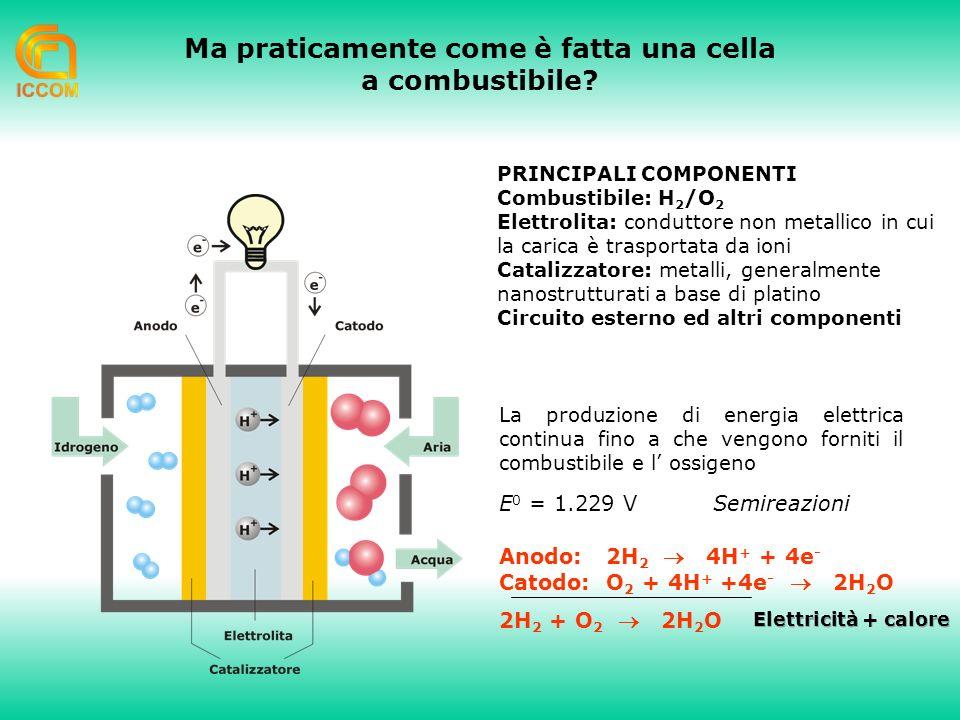Ma praticamente come è fatta una cella a combustibile.