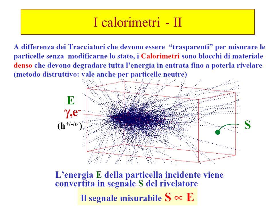 I calorimetri - II