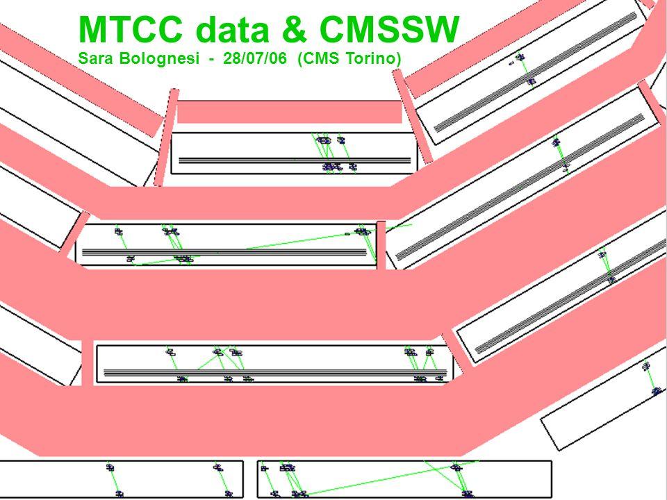 MTCC data & CMSSW Sara Bolognesi - 28/07/06 (CMS Torino)