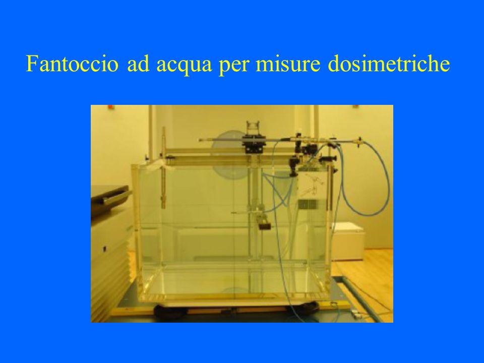 Fantoccio ad acqua per misure dosimetriche