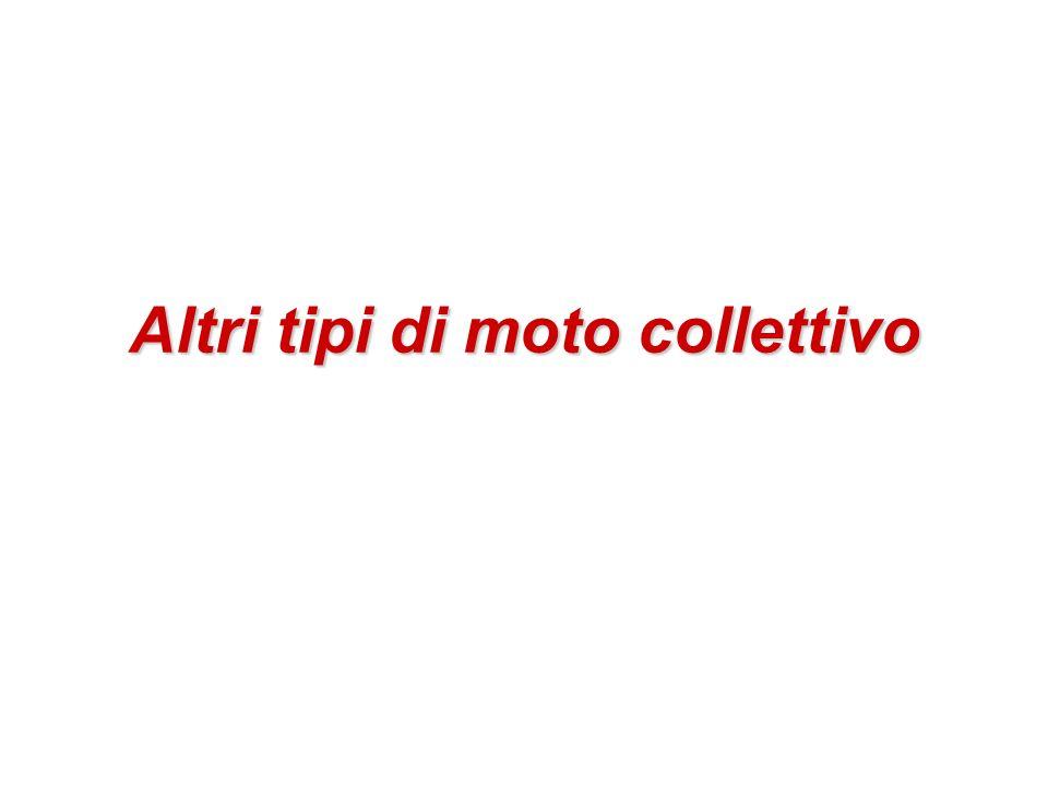 Altri tipi di moto collettivo