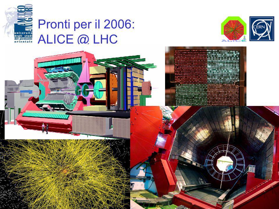 Pronti per il 2006: ALICE @ LHC