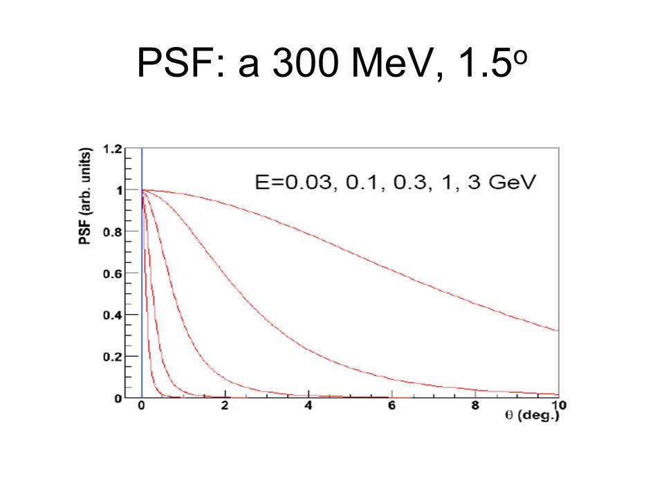 PSF: a 300 MeV, 1.5 o