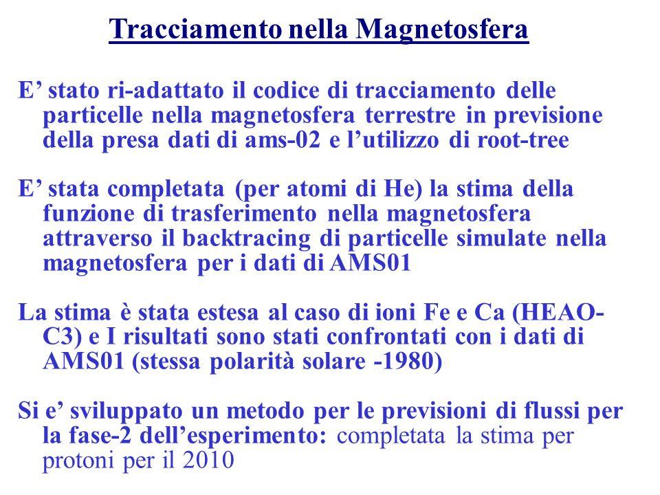 La tracciatura dei RC I RC vengono tracciati nel Campo MagneticoTerrestre (CMT).