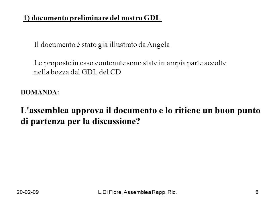 20-02-09L.Di Fiore, Assemblea Rapp.