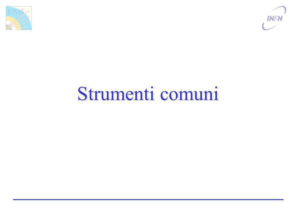 Strumenti comuni