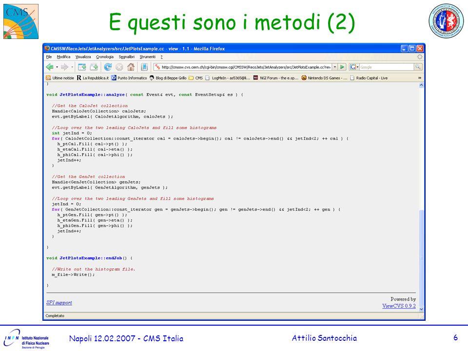 Napoli 12.02.2007 - CMS Italia Attilio Santocchia 7 La tipica classe di Analisi