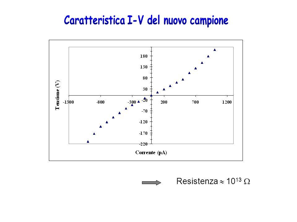 Metallizzazioni di nuovi campioni con una matrice 4x4 di elettrodi da 1mm 2 Il problema degli effetti della ionizzazione dellaria intorno al campione vengono risolti con una cameretta da vuoto Possibilità di effettuare profili di fascio per piccoli campi Misure puntuali di dose