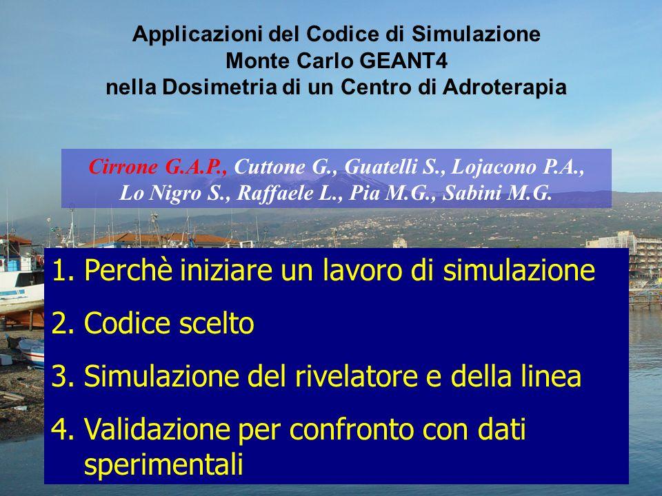 Il ciclotrone Superconduttore di Catania è lunica macchina in Italia utile per applicazioni di adroterapia Trattamento del melanoma della coroide e delliride Circa 300 casi allanno in Italia G.A.P.