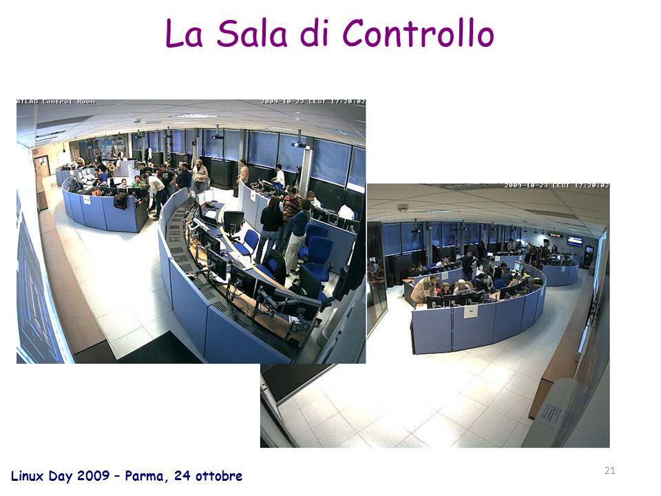 Linux Day 2009 – Parma, 24 ottobre 21 La Sala di Controllo