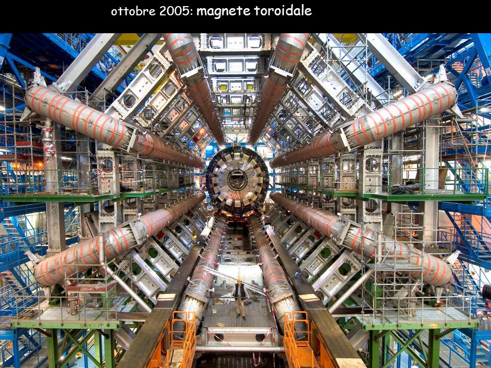 ottobre 2005: magnete toroidale