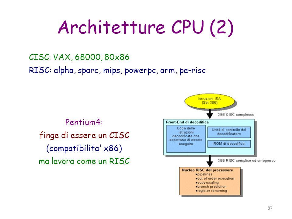 88 Kernel Cuore del sistema operativo Gestione risorse hardware Scheduling e gestione processi sw