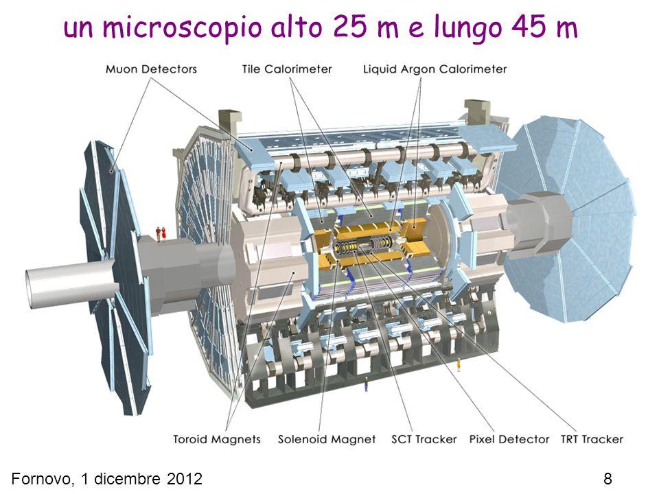 Fornovo, 1 dicembre 2012 8 un microscopio alto 25 m e lungo 45 m