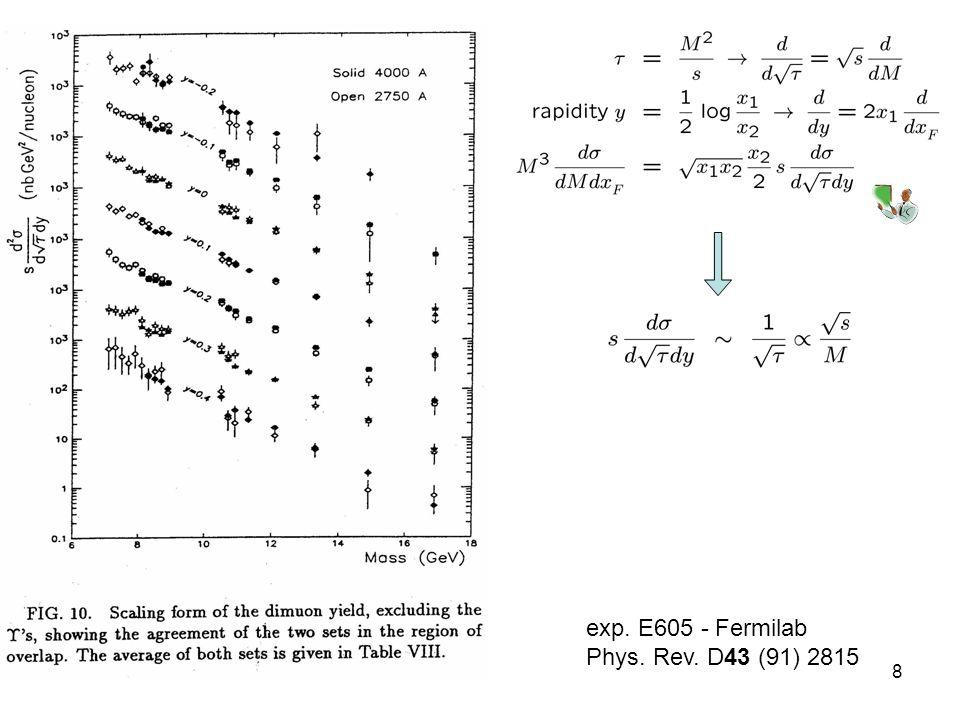 31-Ott-078 exp. E605 - Fermilab Phys. Rev. D43 (91) 2815