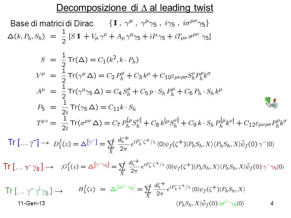 11-Gen-135 interpretazione probabilistica chiral-odd