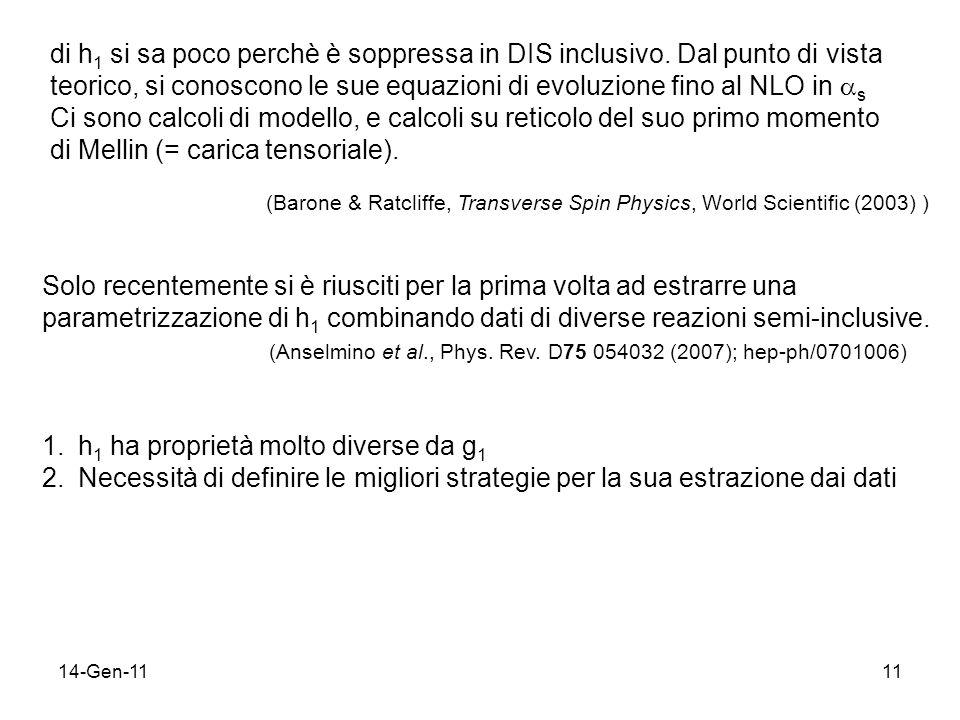 14-Gen-1111 di h 1 si sa poco perchè è soppressa in DIS inclusivo.