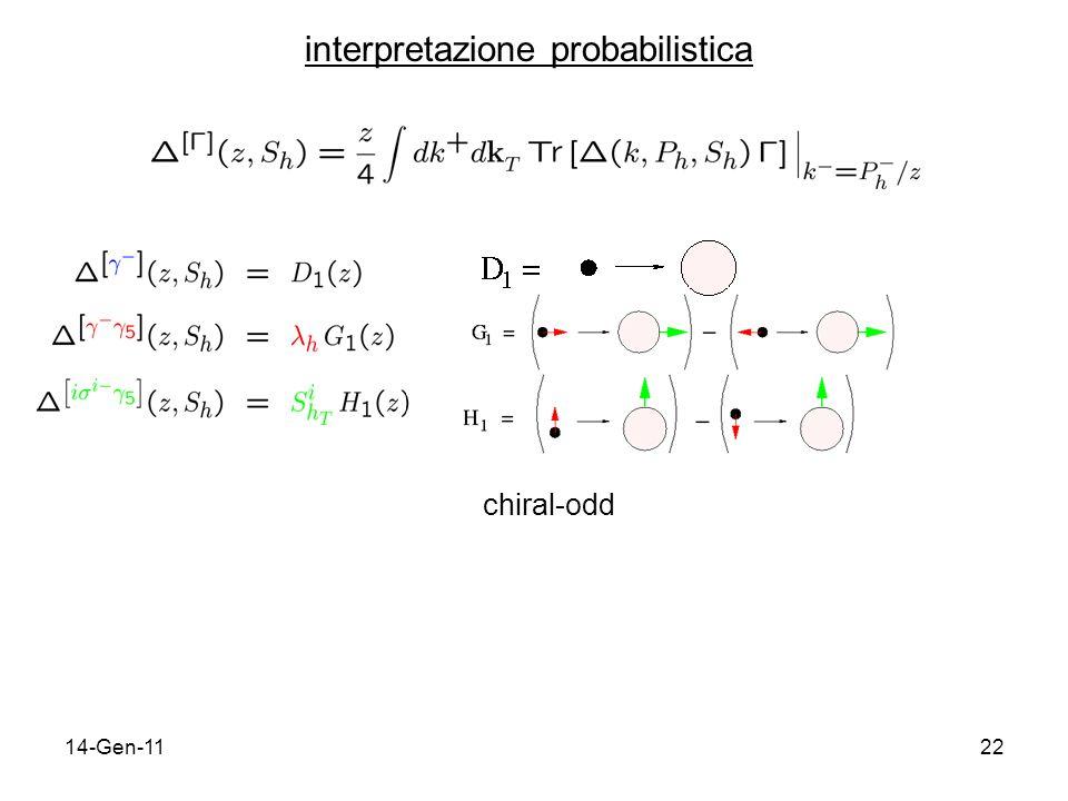 14-Gen-1122 interpretazione probabilistica chiral-odd