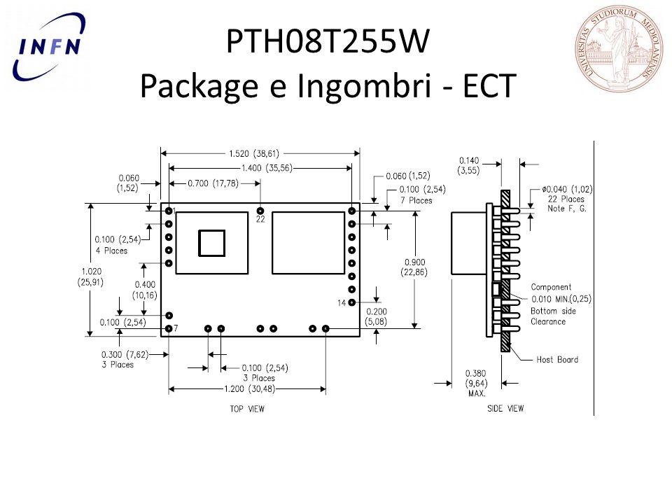 PTH08T255W Package e Ingombri - ECT