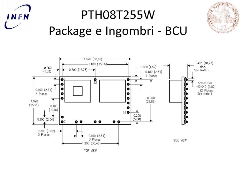 PTH08T255W Package e Ingombri - BCU